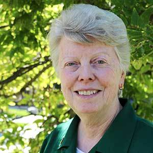 Sr. Mary Lynch, SSJ, Rector, McGlinn Hall