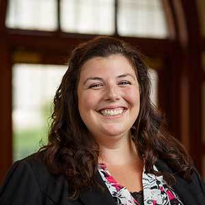 Liz Detwiler, Rector, Walsh Hall